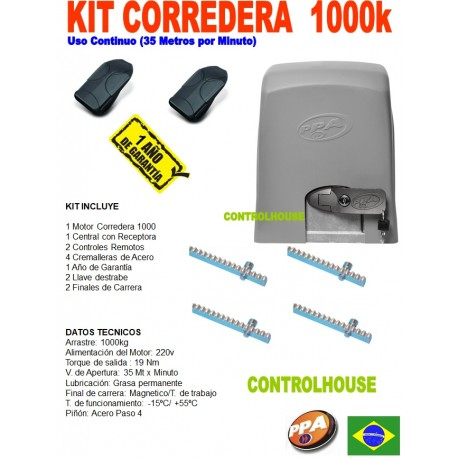 Kit Corredera PPA 1000K jETfLEX